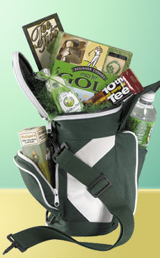 Golf Tee Time Basket