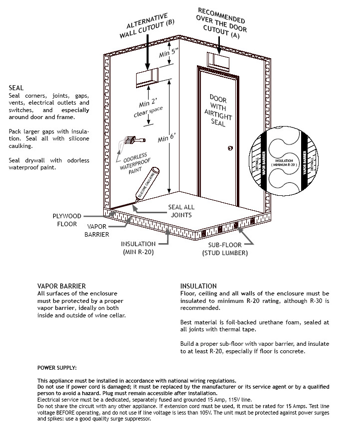 Koolspace Wine Cellar Cooling Units : Coolspace koolspace wine cellar cooling system gifts