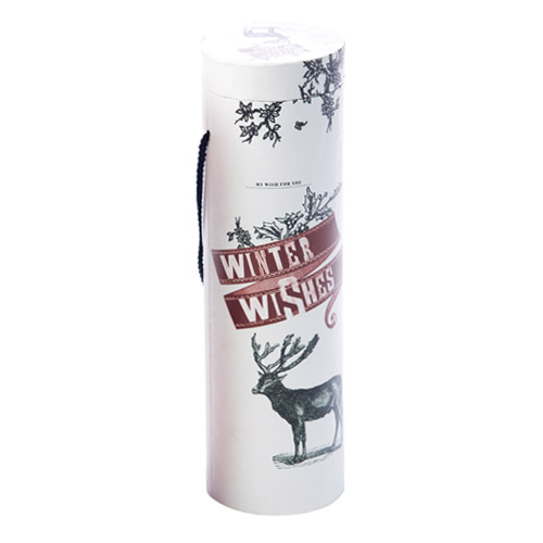 Winter Wishes Wine Tube | Wine Accessories by True Fabrications